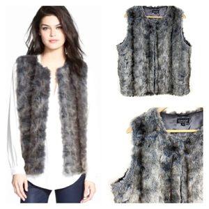 Topshop Fur Vest Gorgeous Size 12